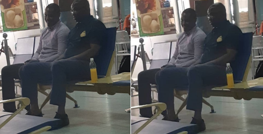 Photo of PHOTOS: Fayose Spotted At Abuja Airport As He Board A Flight To Lagos