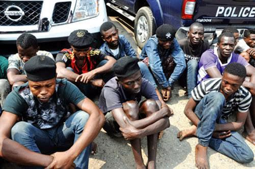 Photo of 15 Cultists Denounce Membership of Group In Enugu Community