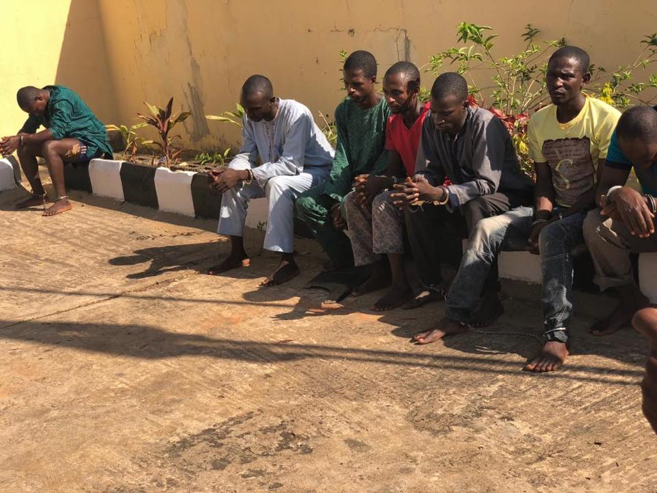DSS Arrests Suspected Killers Of Traditional Ruler In Kaduna [Photos]