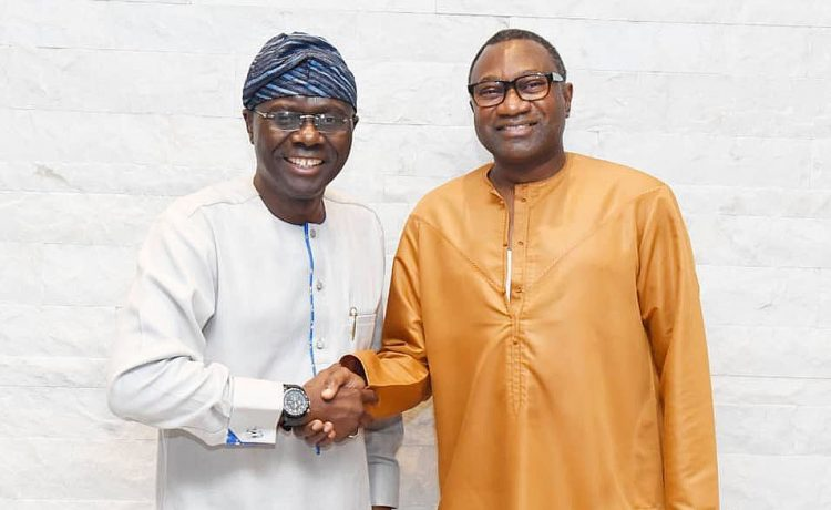 Femi Otedola Endorses Sanwo-Olu For Lagos State Governor in 2019 - OkayNG News