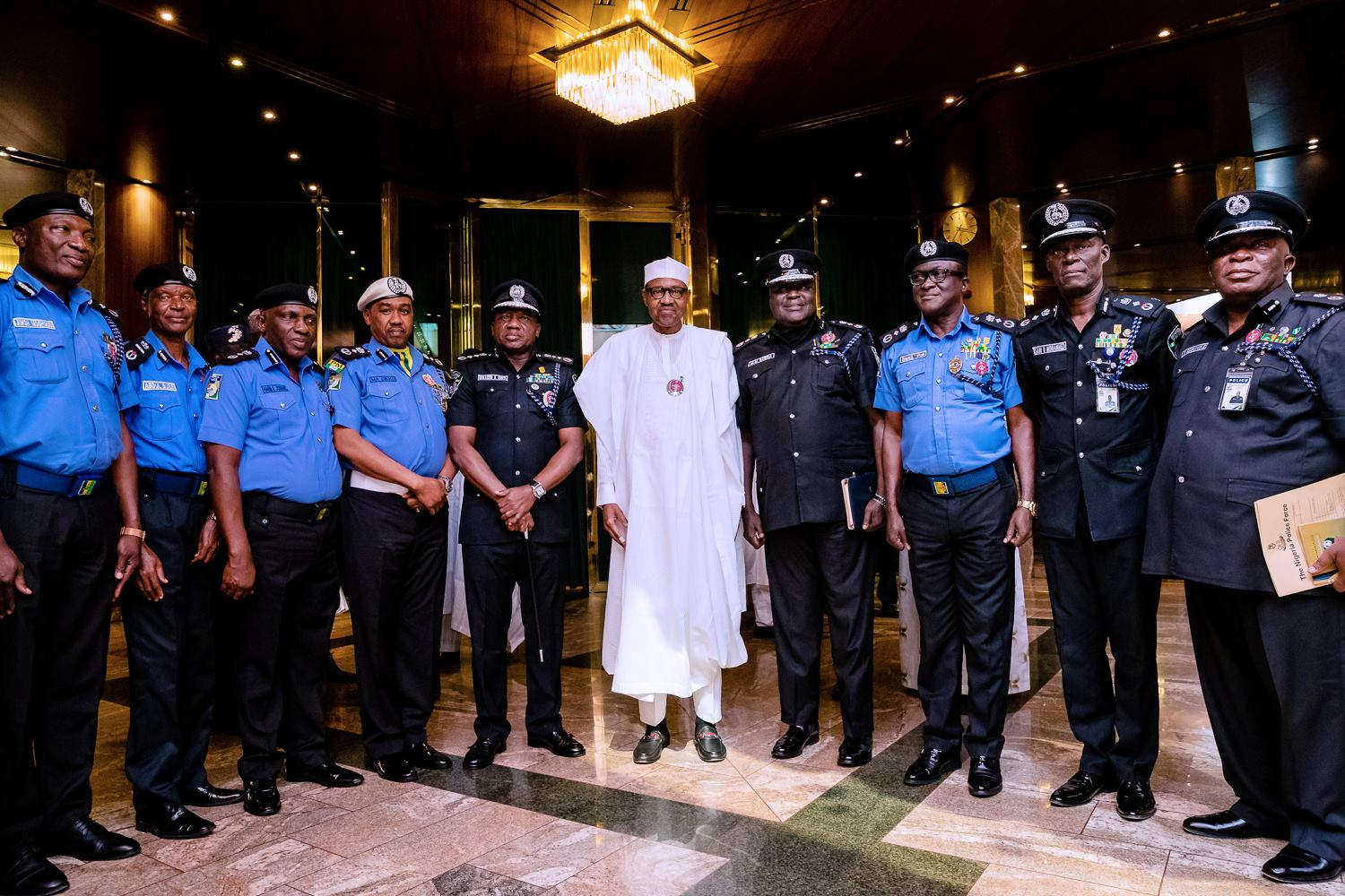 Buhari Approves Enhanced Salary Structure for Nigeria Police - OkayNG News