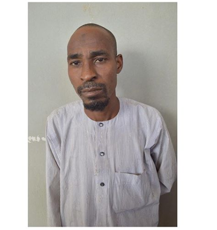 Photo of Islamic Teacher Arrested For Allegedly Raping 8-Year-Old Female Student In Kano [Photo]