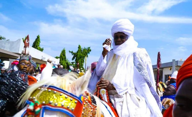 Atiku Turbanned as 7th Waziri of Adamawa Emirate Council [Photos] - OkayNG News