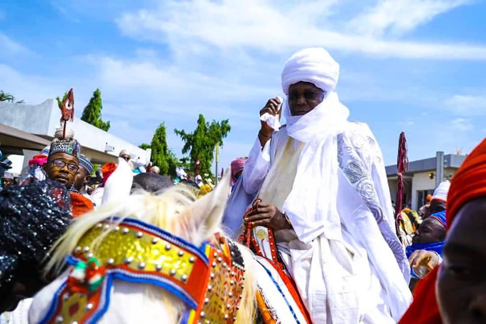 Photo of Atiku Turbanned as 7th Waziri of Adamawa Emirate Council [Photos]