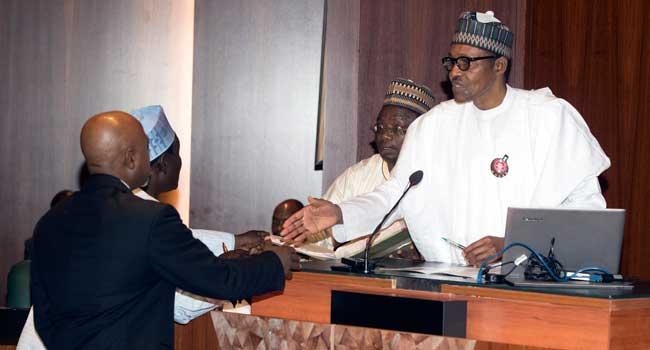 Photo of Buhari Inaugurates CCB Chairman, NPC Members [Photos]