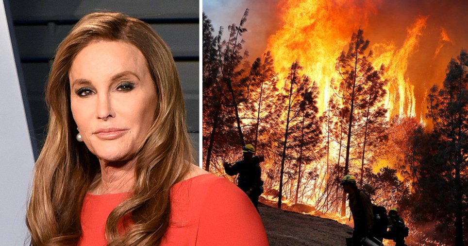Caitlyn Jenner's Home Destroyed in California Wildfire