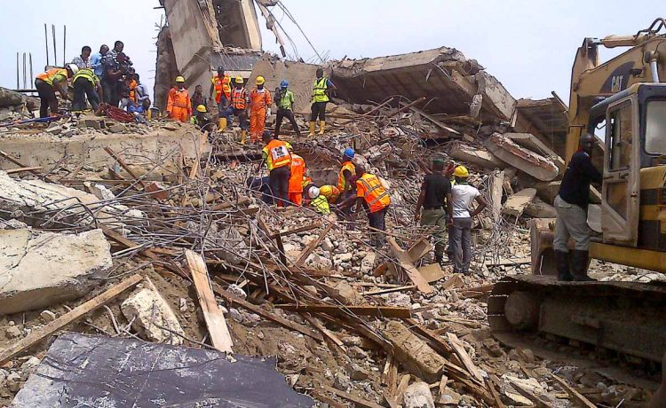 JUST IN! Many Feared Dead As Seven-storey Building Collapses In Port Harcourt - OkayNG News