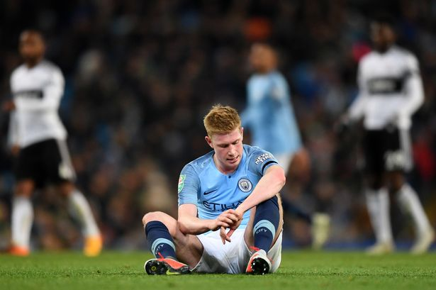 Photo of Manchester City: Kevin de Bruyne Ruled Out for Six Weeks Due to Left Knee Injury