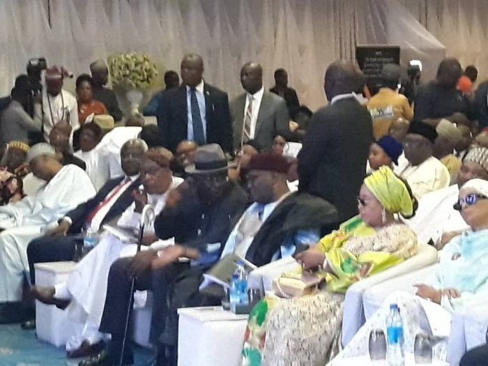 GEJ@ 67 e1542730354339 - Photos from Jonathan's New Book Launch In Abuja