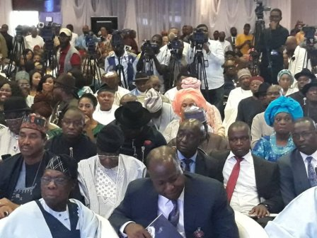 GEJ@67 2 - Photos from Jonathan's New Book Launch In Abuja