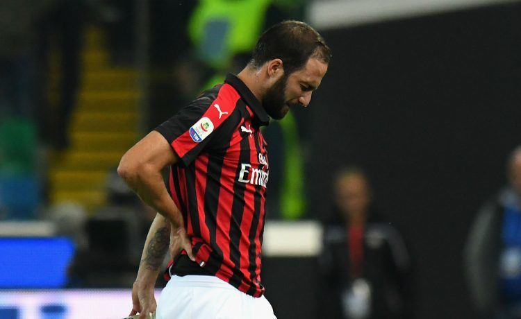 Higuain Apologises for Red Card Against Juventus - OkayNG News
