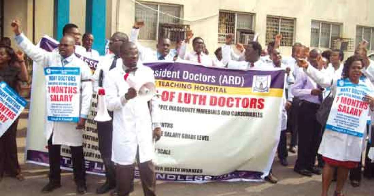 Photo of LUTH Resident Doctors Vow to Begin Indefinite Strike Over Unpaid Salaries, Allowances