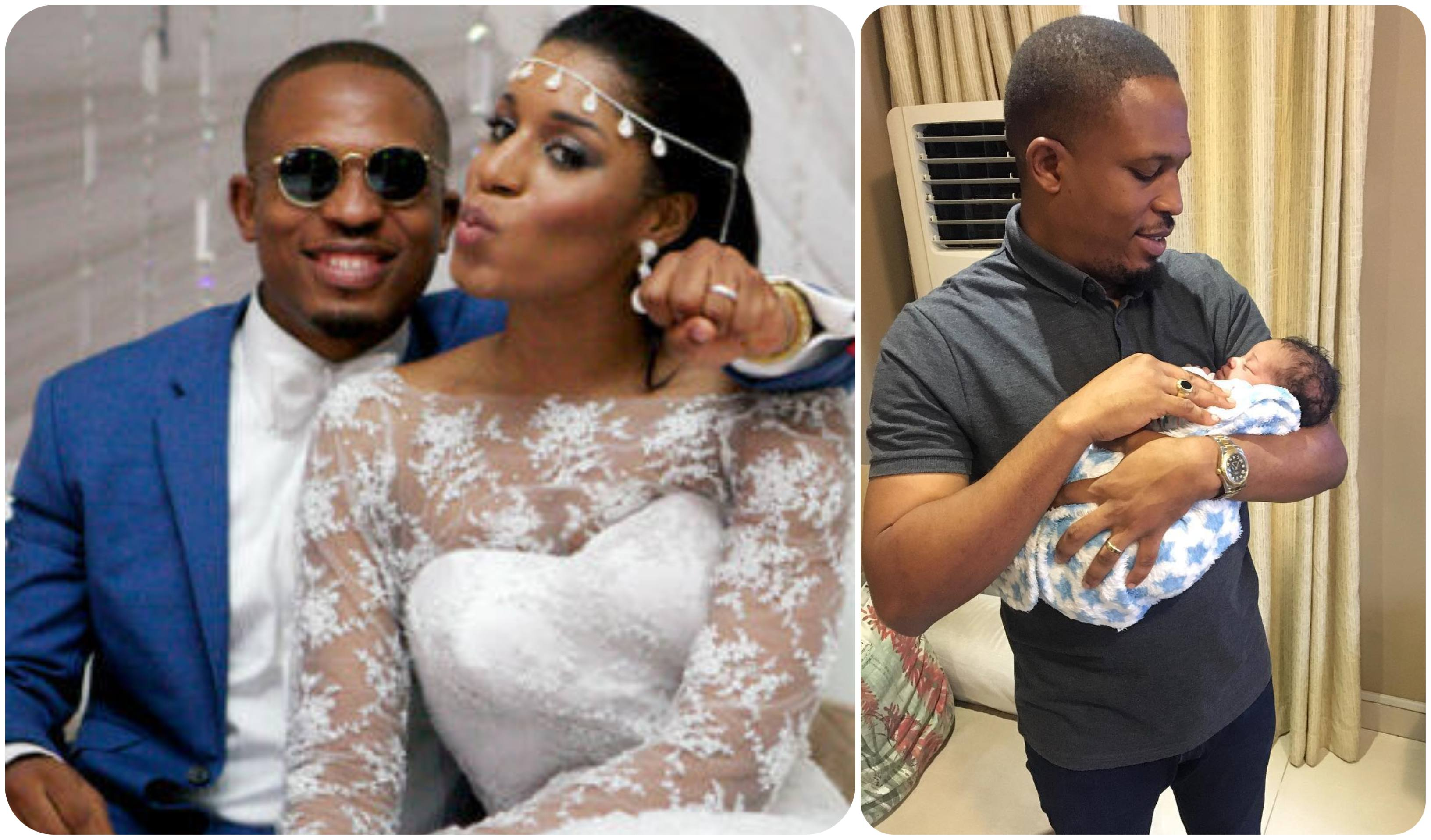 Photo of Naeto C and Wife Nicole Welcome Baby Girl [Photos]
