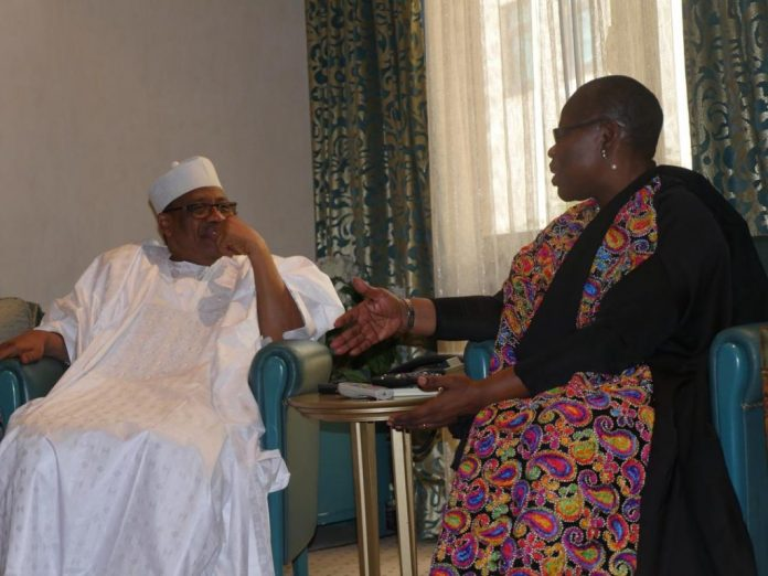 Photo of Oby Ezekwesili Holds Meeting with IBB In Minna