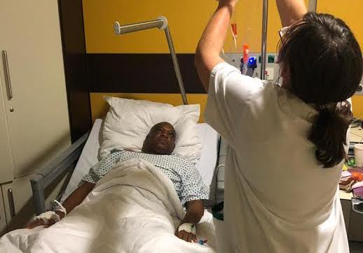 Photo of Orji Kalu In Germany for Surgery Over Undisclosed Ailment
