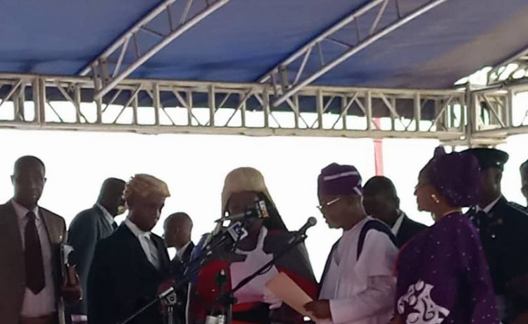 Isiaka Oyetola Sworn In As Osun State Governor - OkayNG News