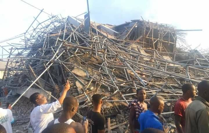 UPDATE! How 7-Storey Building Collapsed In Port-Harcourt [Photos] - OkayNG News