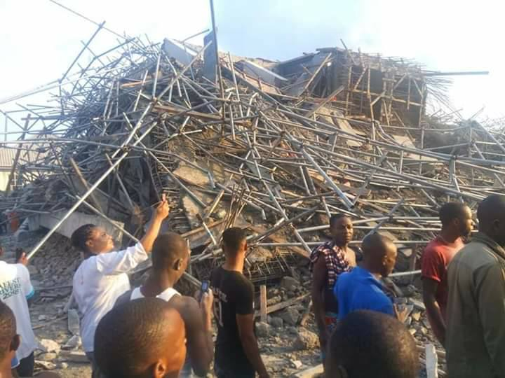 Port Harcourt Collapse OkayNG 1 - UPDATE! How 7-Storey Building Collapsed In Port-Harcourt [Photos]