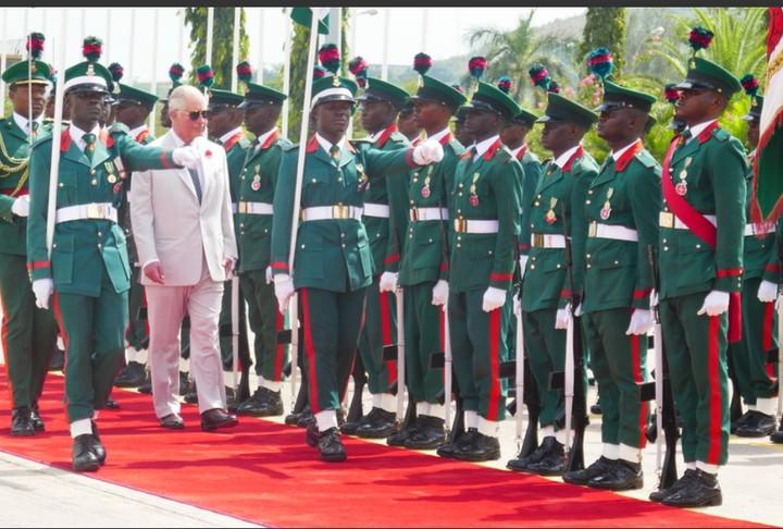 Prince Charles 1 - Prince Charles and Wife, Camilla Arrive Nigeria [Photos]