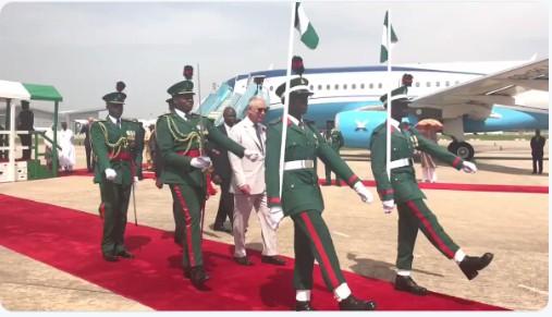 Prince Charles 3 - Prince Charles and Wife, Camilla Arrive Nigeria [Photos]