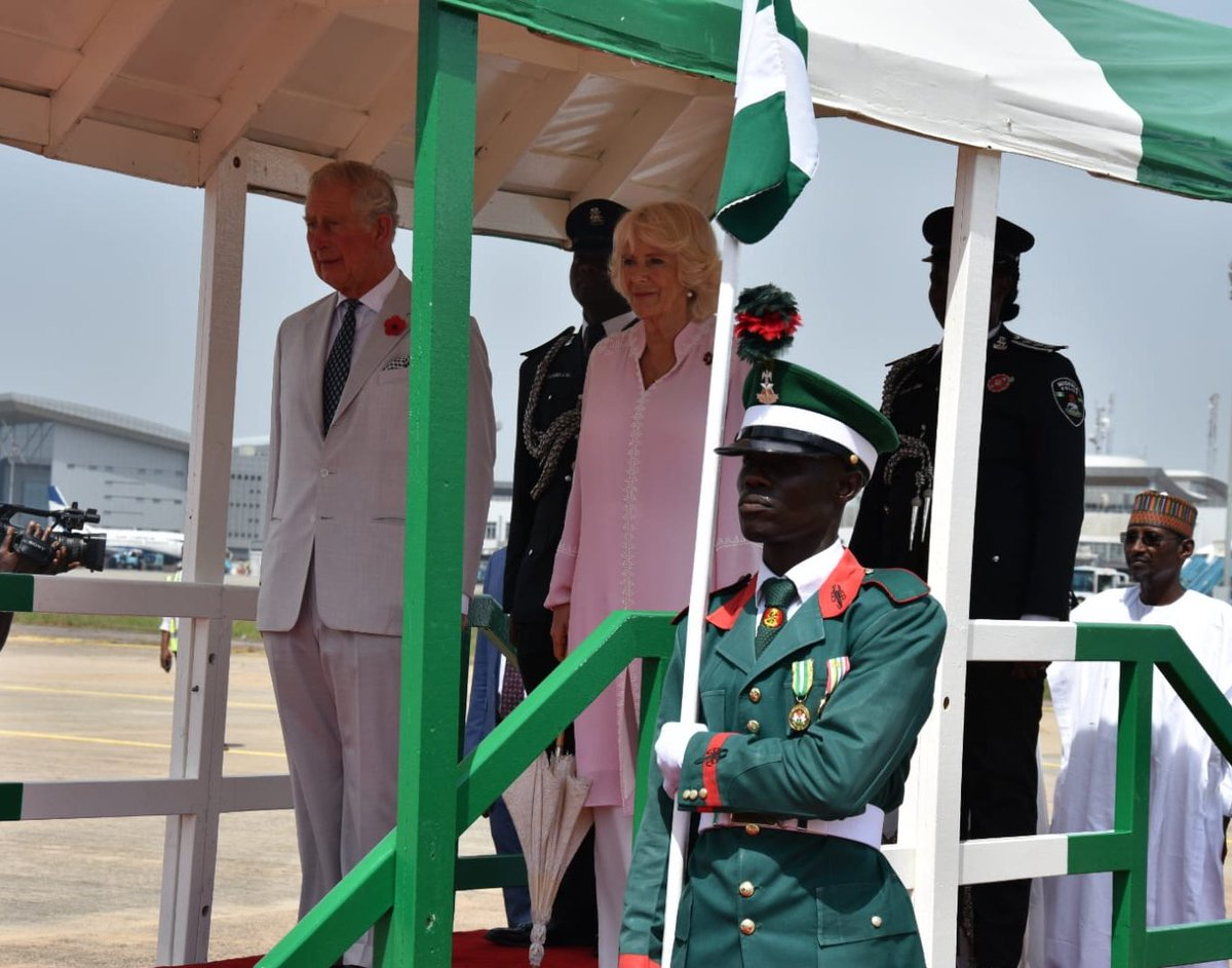 Prince Charles OkayNG 2 - Prince Charles and Wife, Camilla Arrive Nigeria [Photos]