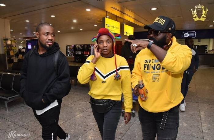 Simi Lands In London for her First Concert [Photos]