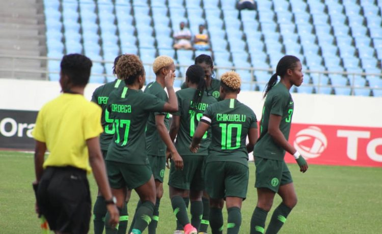 2018 AWCON: Super Falcons Advance Into Semi-finals After 6-0 Win Against Equatorial Guinea - OkayNG News