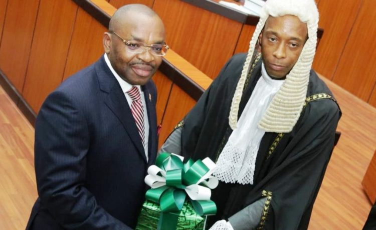 Udom Presents N671bn Budget for 2019 - OkayNG News