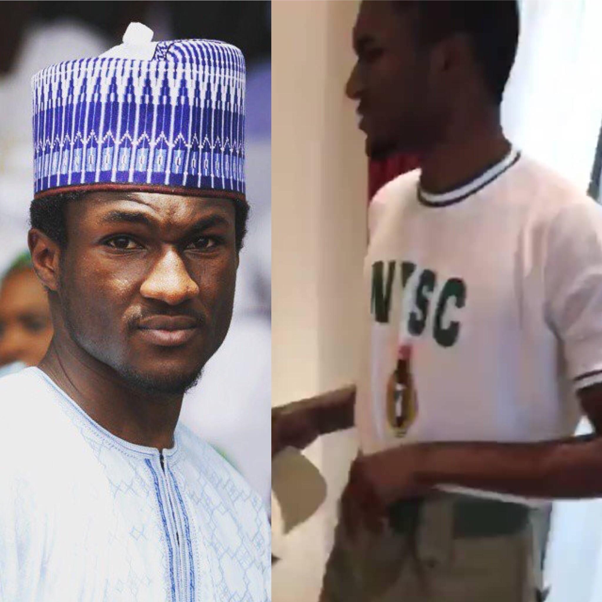 Yusuf Buhari - Buhari's Son, Yusuf Buhari Starts NYSC Programme in Abuja [See Photos]