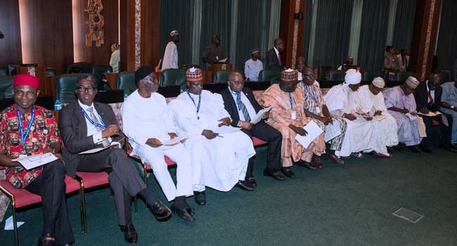 Buhari Inaugurates CCB Chairman, NPC Members [Photos]