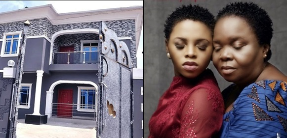 Chidinma Builds Mansion for Her Mother As a Birthday Gift [Photos]