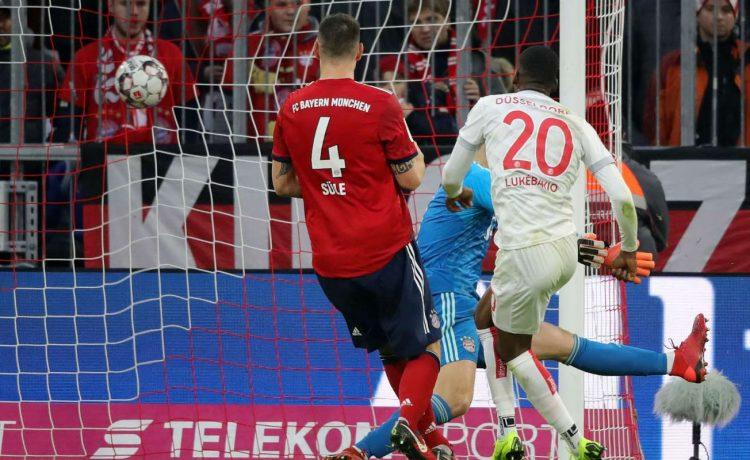 Bayern Munich 3-3 Fortuna Dusseldorf: Bundesliga Highlights [Watch Video] - OkayNG News