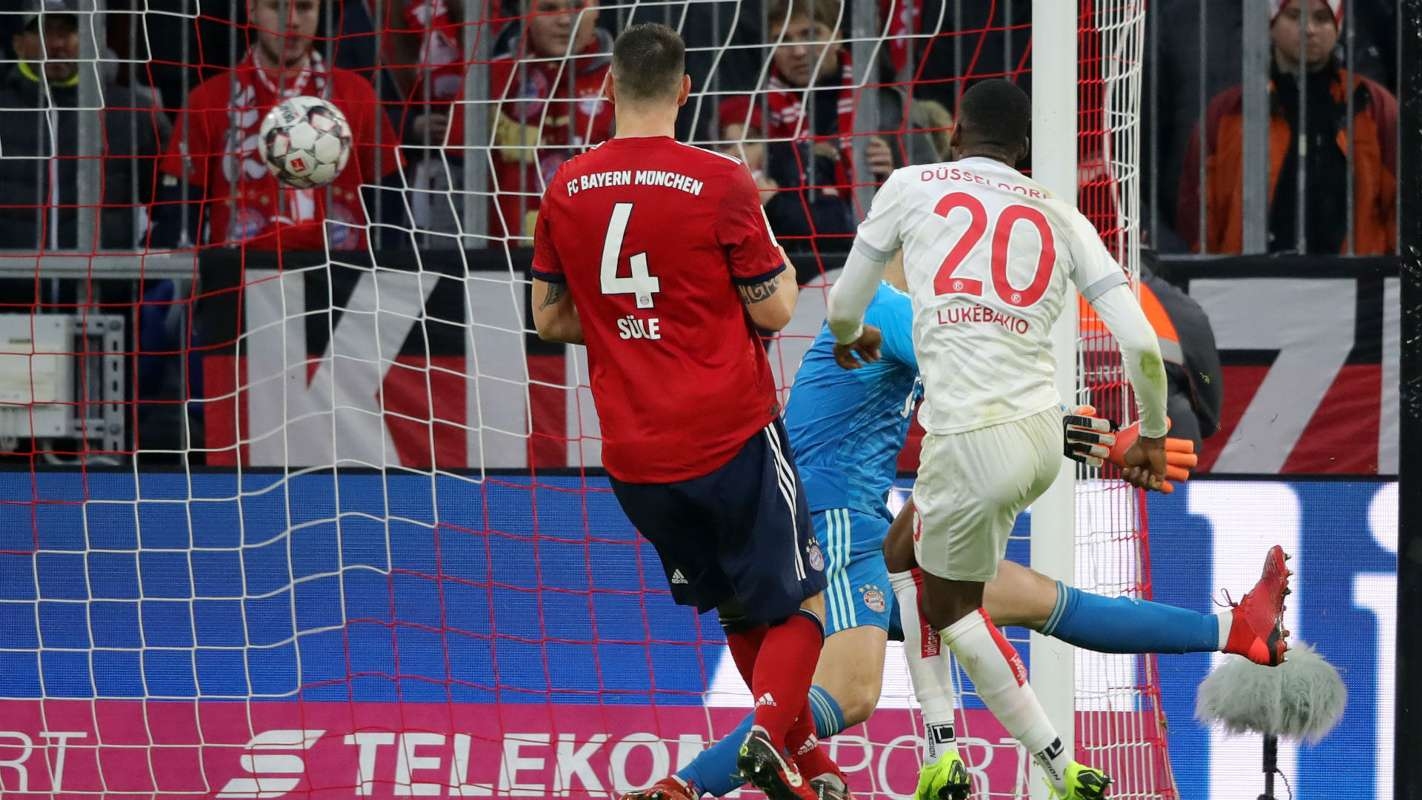 dodi lukebakio cropped tmh60fzxsynn1ija4e1qn5yp1 - Bayern Munich 3-3 Fortuna Dusseldorf: Bundesliga Highlights [Watch Video]