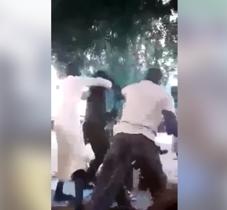Two Hausa Men Fight After Heated Argument Over Buhari [Watch Video] - OkayNG News