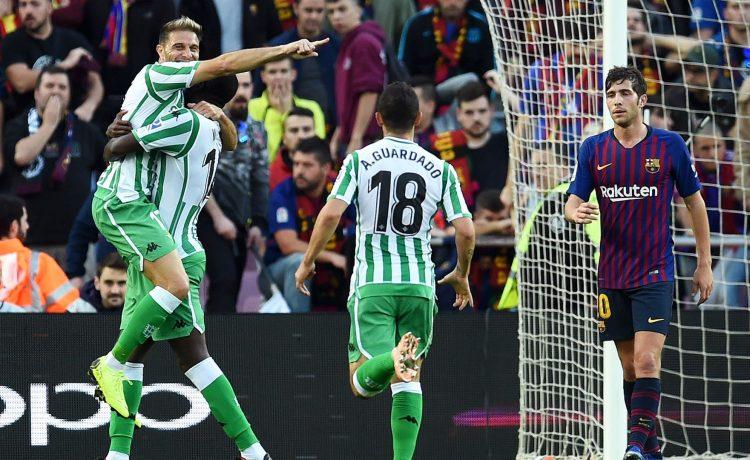 Barcelona 3-4 Real Betis [LaLiga Highlights] [Watch] - OkayNG News