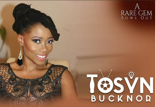 Tosyn Bucknor's Funeral Arrangements Released - OkayNG News