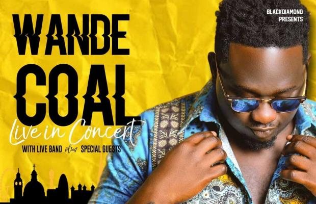 wandeflyer - LIVE STREAM: Wande Coal Live In Concert UK [WATCH]