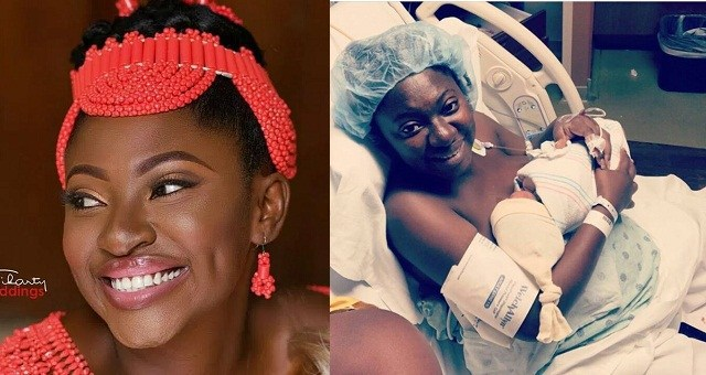 yvonne jegede okayng - Yvonne Jegede Welcomes First Child with Husband, Abounce