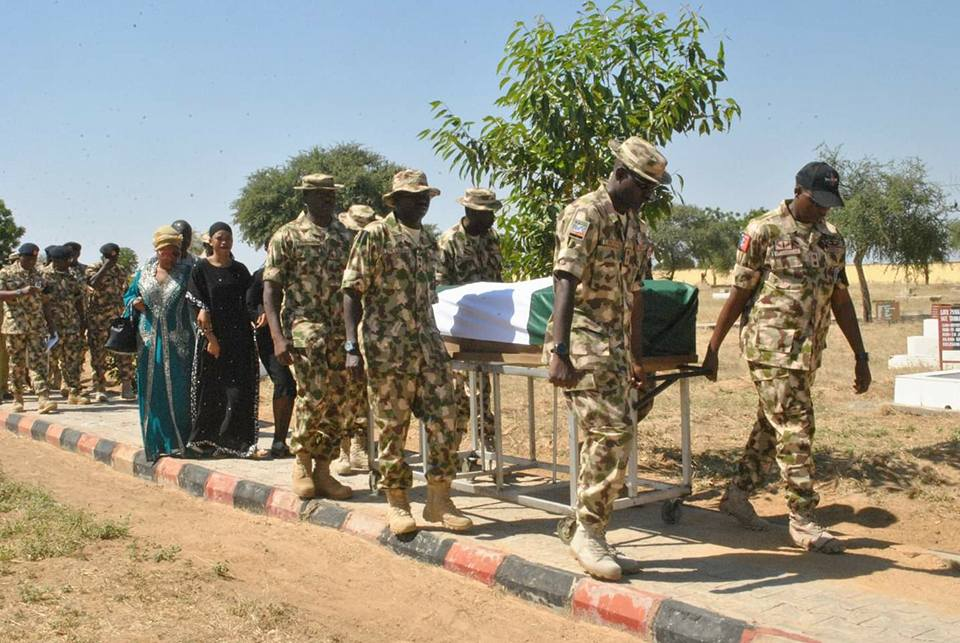 48260327 210246686553219 8394594205158080512 n 11 - Officers and Soldiers Killed In Metele Attack Buried [Photos]