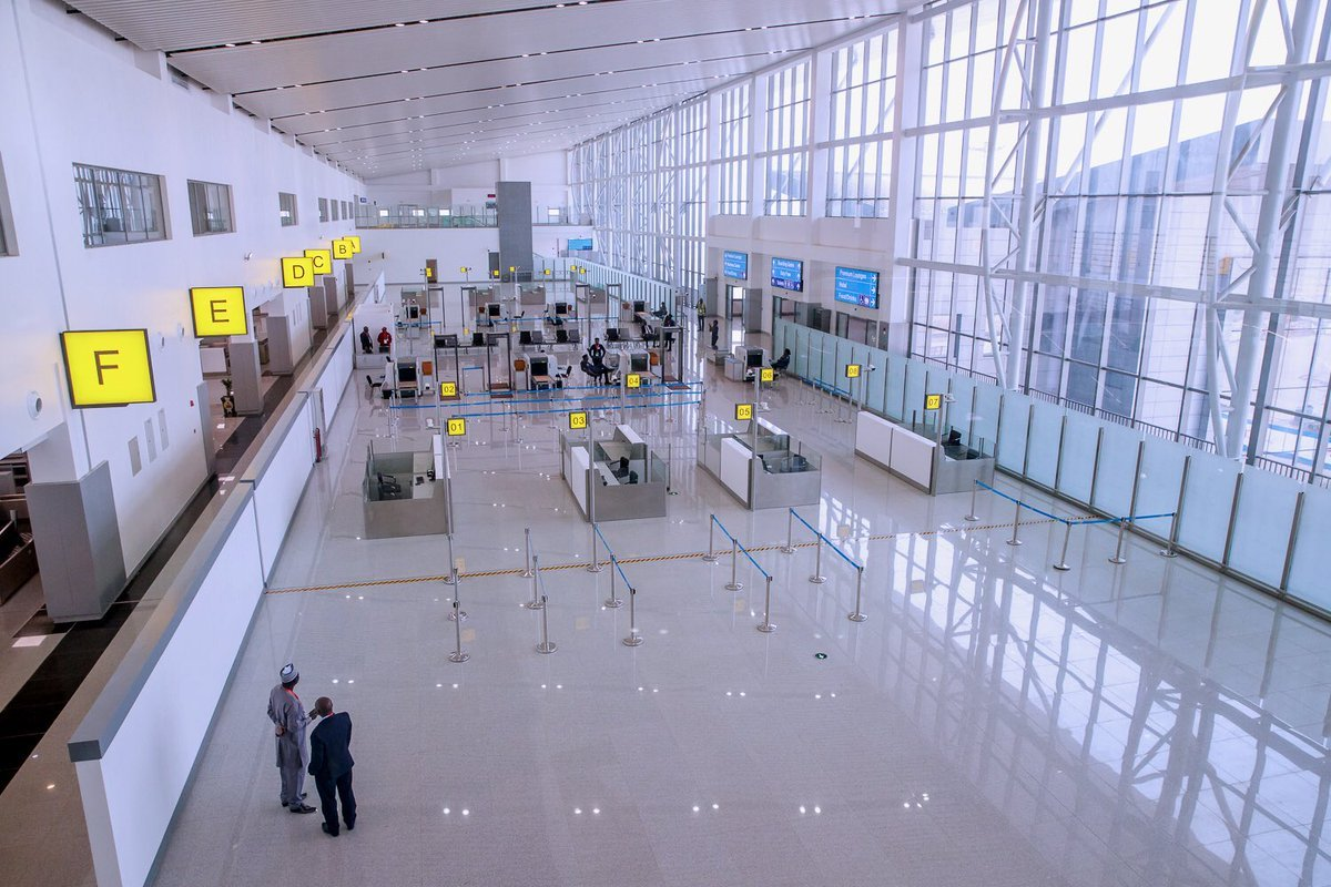 Abuja New international terminal OkayNG - See Inside New Abuja Airport International Terminal Building [Video]