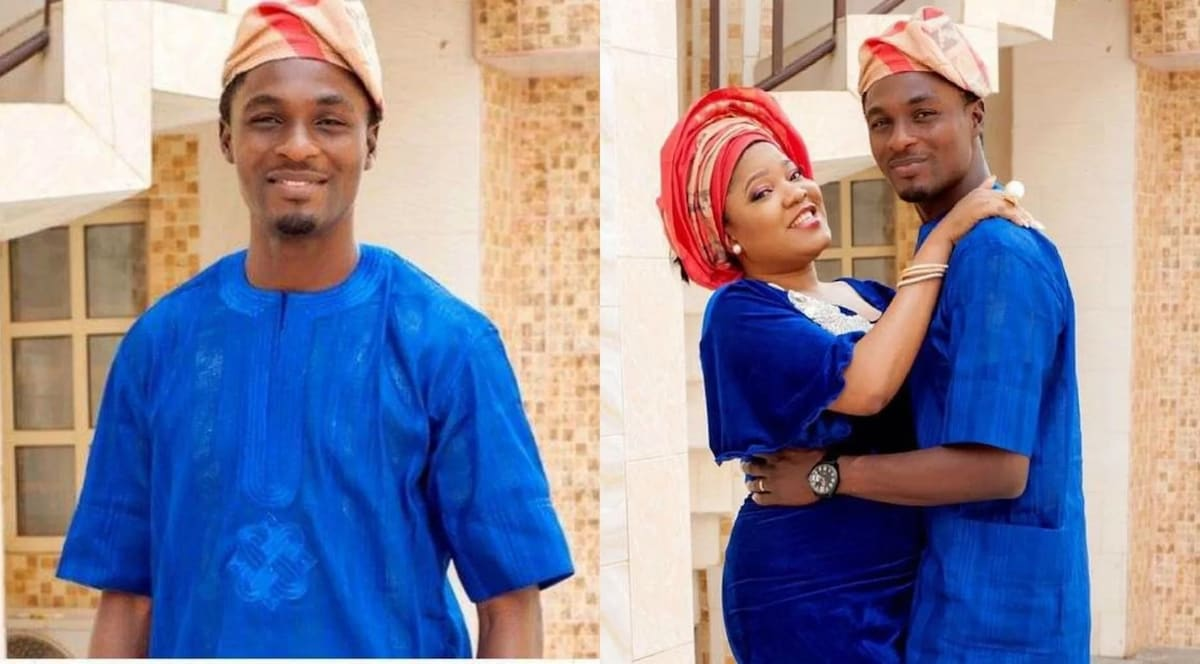 Adeniyi Johnson Toyin Abraham OkayNG - Adeniyi Johnson Cries Out, Pleads with Toyin Abraham to Sign Divorce Papers