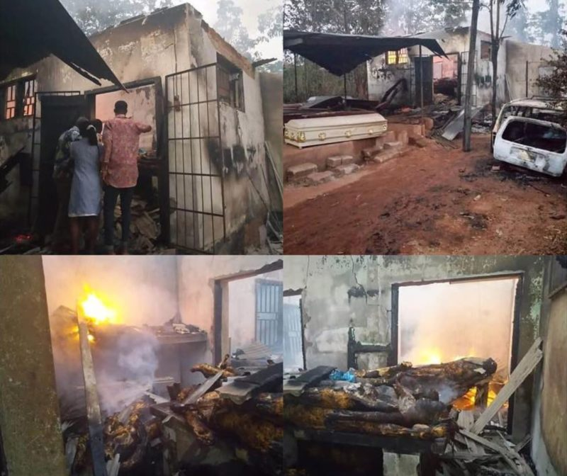 Anambra mortuary e1546158337419 - Mysterious Fire Guts Anambra Mortuary, 50 Corpses Burnt Beyond Recognition