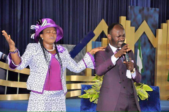 Apostle Suleman Wife OkayNG - LIVE STREAM: Omega Fire Ministries Crossover Service 2018 [Watch]