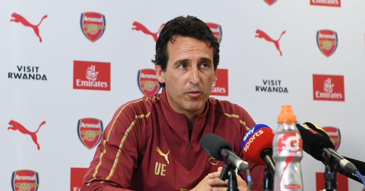 Arsenal Training and Press Conference - Unai Emery Reveals Arsenal January Transfer Target