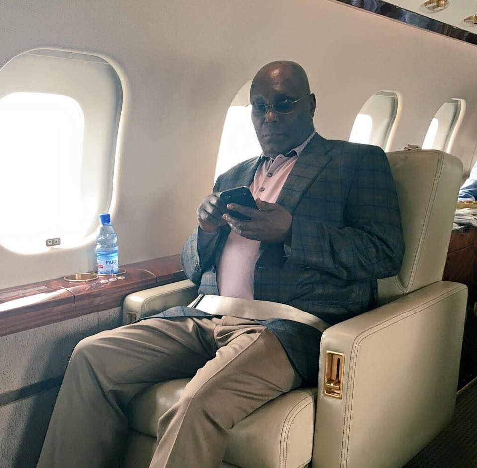Photo of Atiku Finally Issued US Visa As He Jets Out Of Nigeria