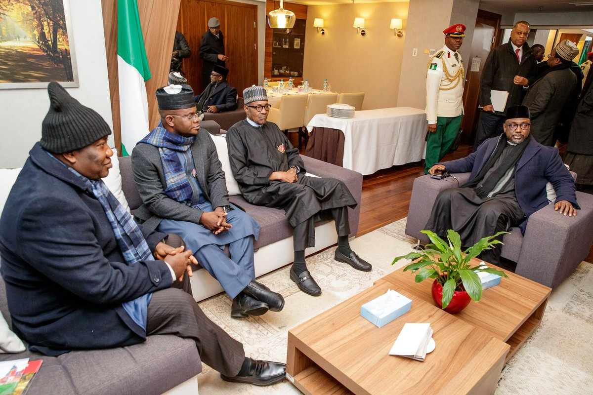 Buhari In Poland Ahead of COP24 [Photos] - OkayNG News