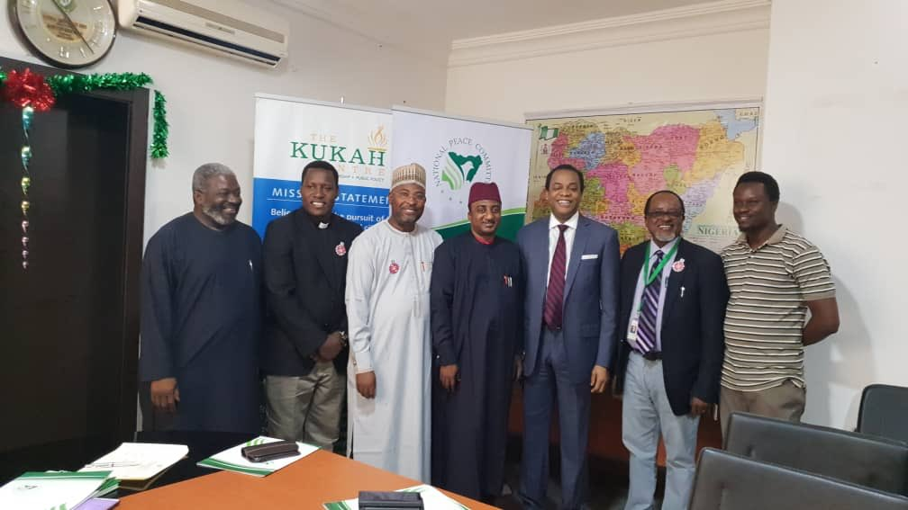 Photo of Donald Duke Signs 2019 Elections Peace Accord