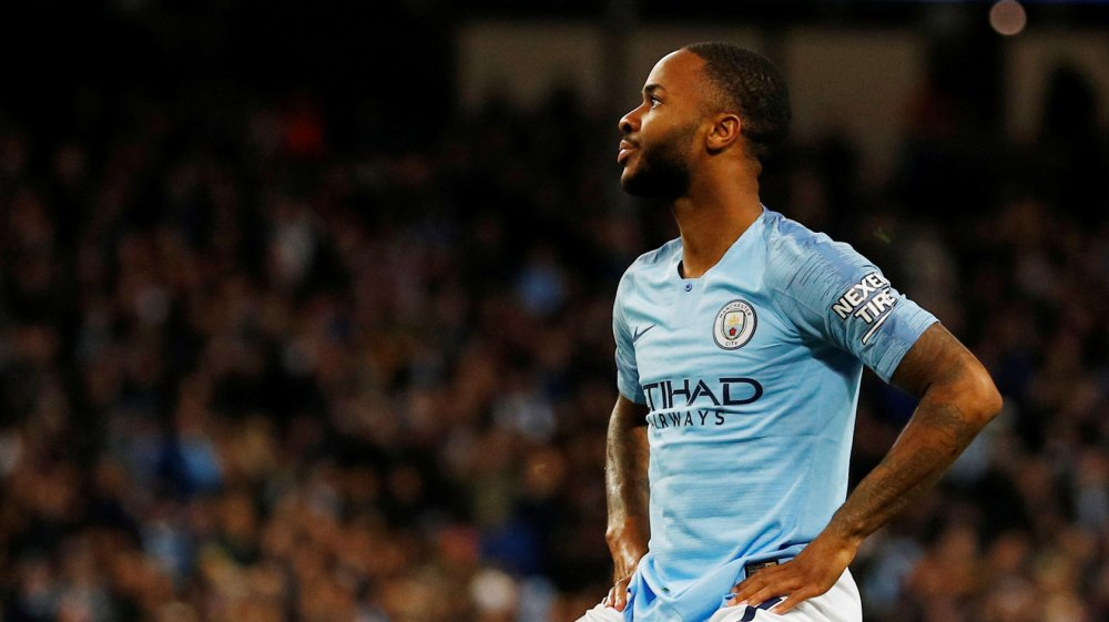 Dt xU95VAAA1ZX  - Raheem Sterling Reacts To Racist Abuse From Chelsea Fans During Chelsea's 2-0 Win Over Manchester City