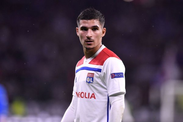 DuG8Wj2W4AoqylP - Arsenal Set To Sign Lyon midfielder, Houssem Aouar As Aaron Ramsey Replacement
