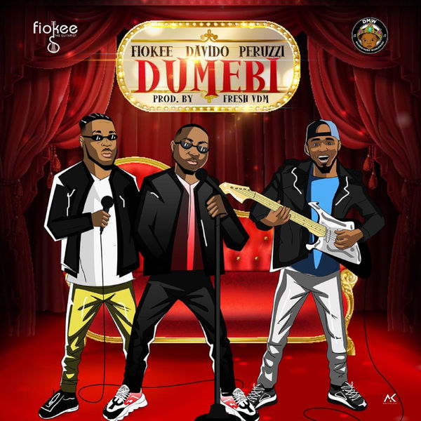 "Photo of Fiokee, Davido & Perruzi Team Up for New Song ""Dumebi"" [Listen]"